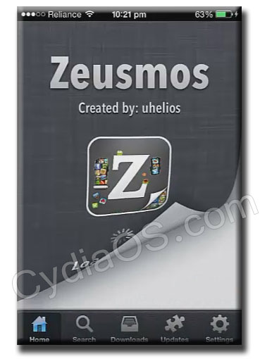 Download Zeusmos Cydia App and Install tons of Apps and Games for free
