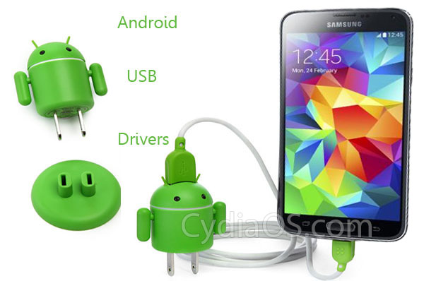 Download & install usb drivers for android (samsung, htc, asus.