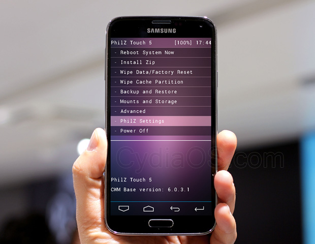 Install Touch Recovery on Galaxy S5