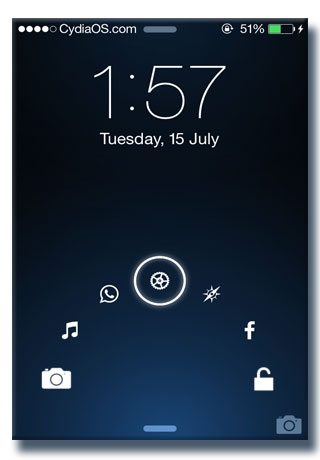 iphone lock screen app jellylock7 best iphone lock screen replacement ios7 15317
