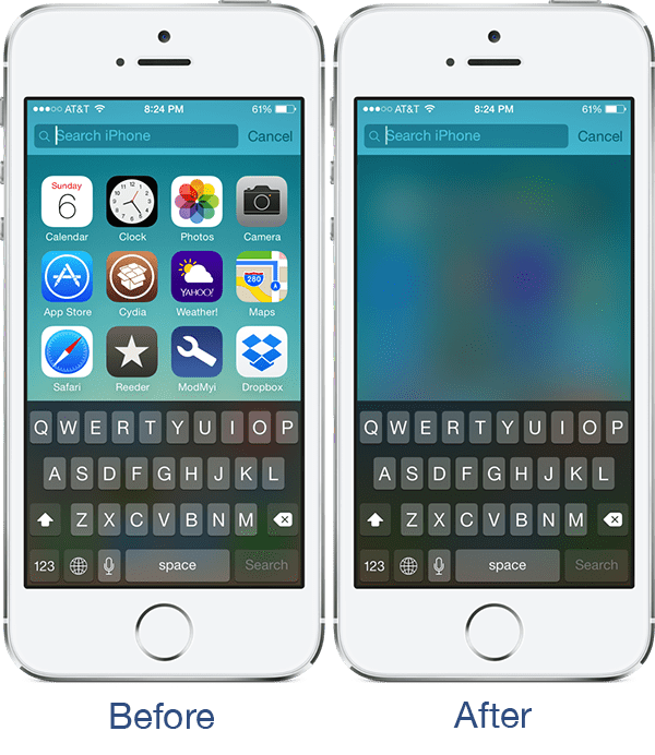 blursl-cydia-tweak