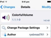 colorfulvolume free cydia tweak