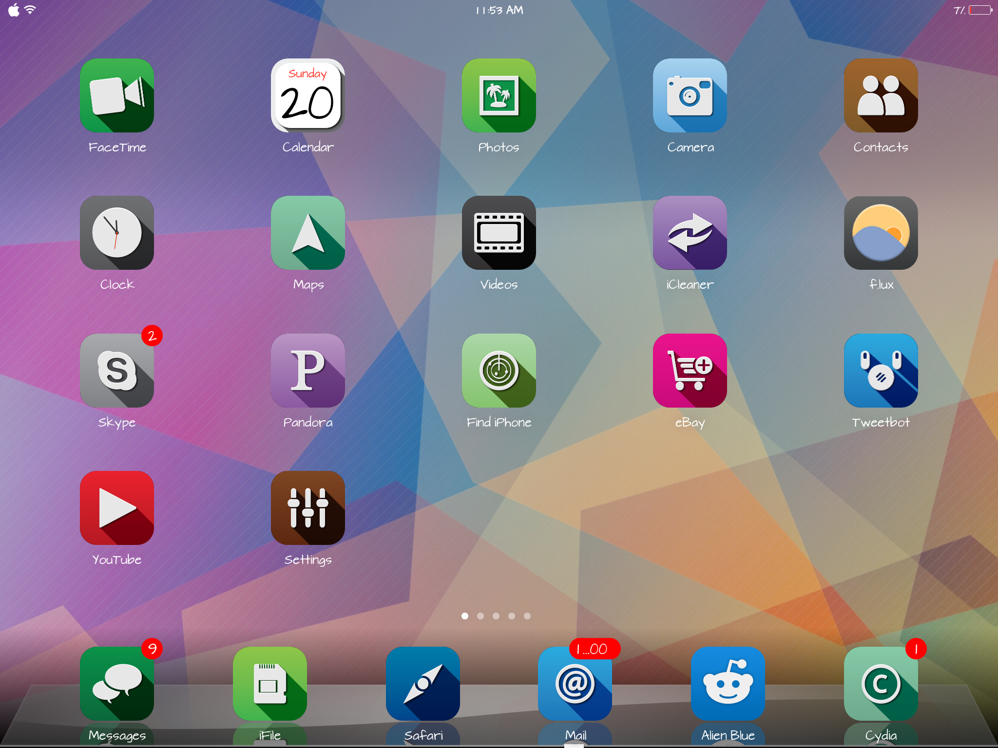 Top 5 Best Winterboard Themes For Ipad Ios 7
