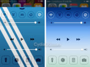 Change Control Center Background iOS 8