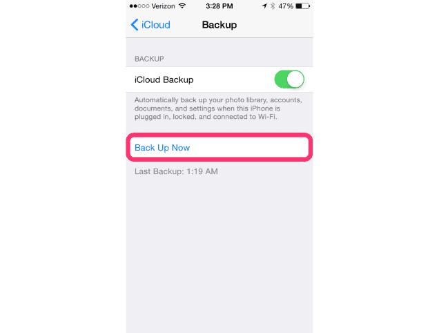 upgrade to ios 8.1- iCloud