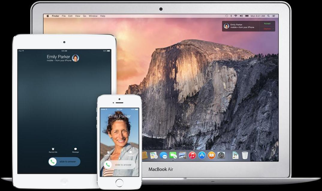 Handoff on iOS 8 and OS X Yosemite