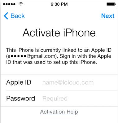 doulci icloud activation code
