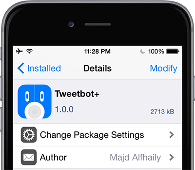 tweetbot+ cydia tweak iOS 8