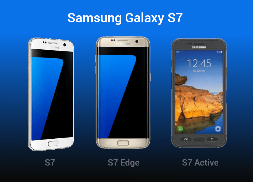 Samsung Galaxy S7, S7 Edge and S7 Active USB drivers