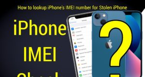 How to check iPhone IMEI number online