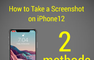 How to take screenshot on iPhone 12 and iPhone 13 without using buttons.